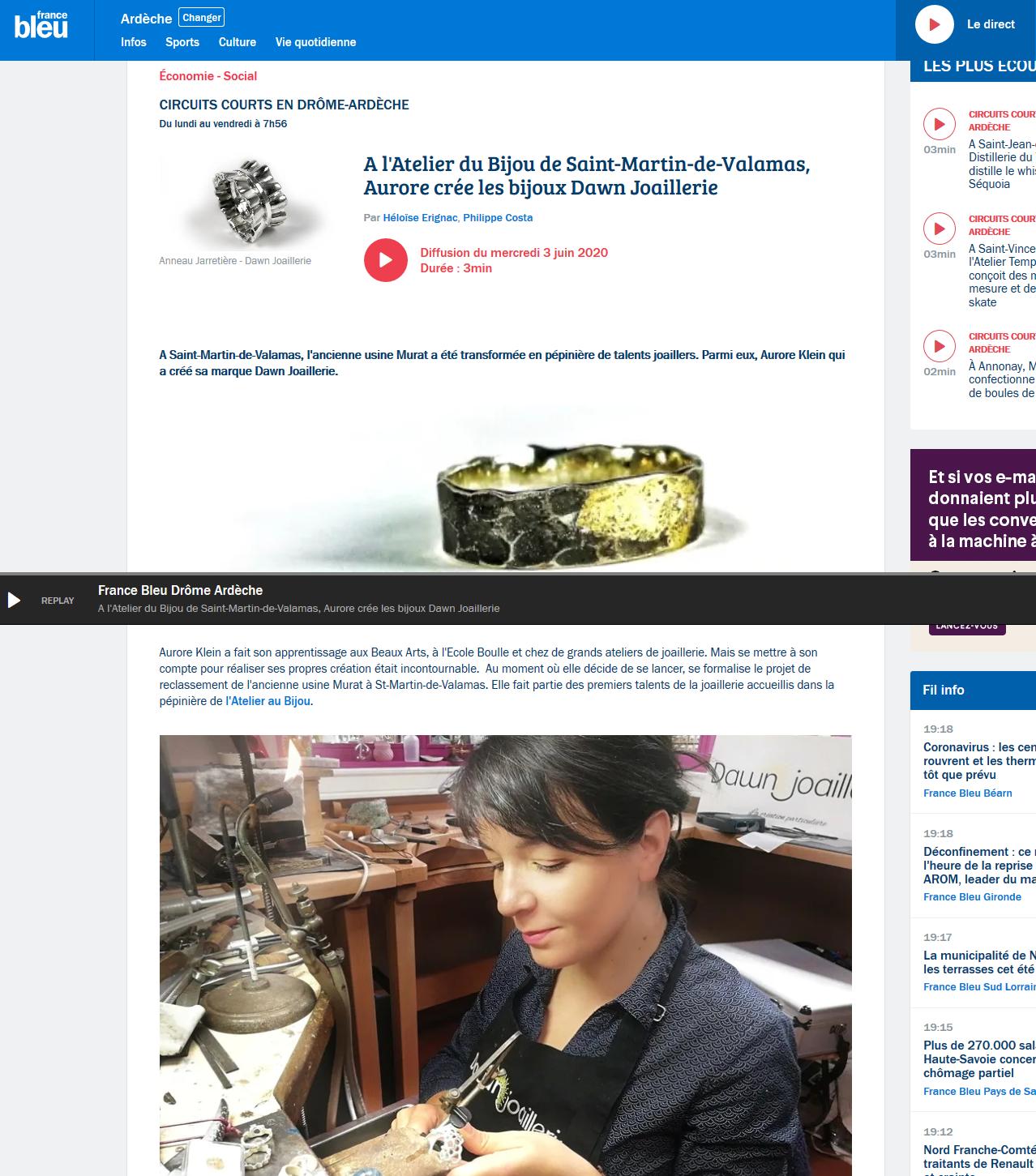 Screenshot_2020-06-03 A l'Atelier du Bijou de Saint-Martin-de-Valamas, Aurore crée les bijoux Dawn Joaillerie